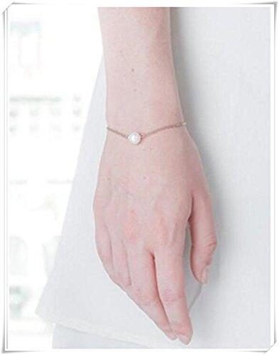 Single Pearl Bracelet - 6