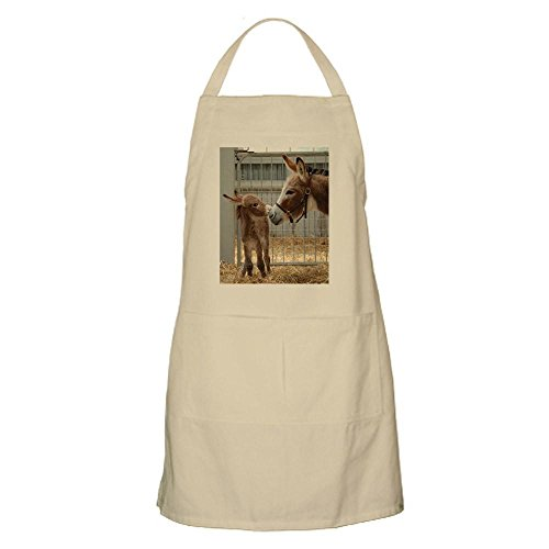 (CafePress Newborn Donkey Foal Apron Kitchen Apron with Pockets, Grilling Apron, Baking Apron)