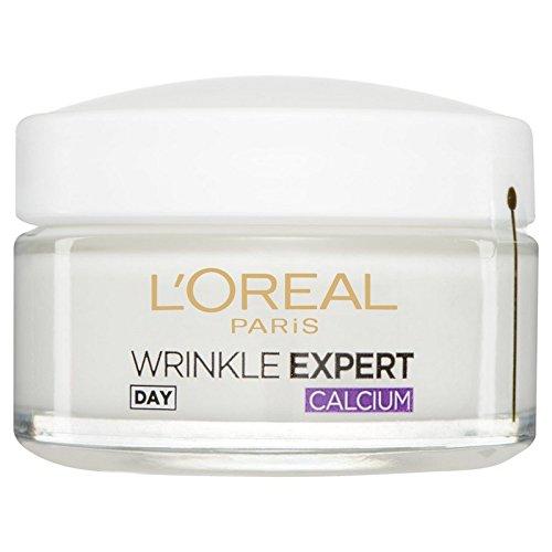 ロレアルパリダーモしわの専門家55+カルシウム日間のポット50ミリリットルを x4 - L'Oral Paris Dermo Experties Wrinkle Expert 55+ Calcium Day Pot 50ml (Pack of 4) [並行輸入品] B072P2YZVN