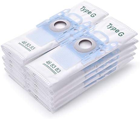 10 bolsas de aspiradora bolsas con filtro para Bosch Type G ...