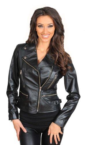 Italian Leather Motorcycle Jacket - 2