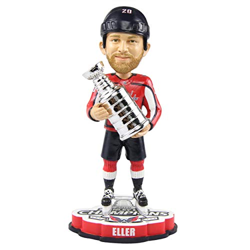 FOCO Lars Eller Washington Capitals 2018 Stanley Cup Champions Bobblehead NHL -