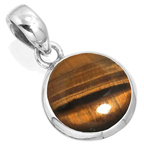 Silver Tiger Eye Necklace - 5