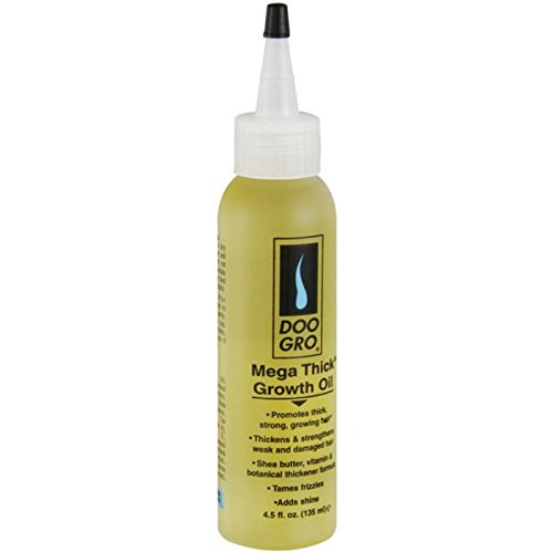 DOO GRO Mega Thick Hair Oil, 4.5 oz
