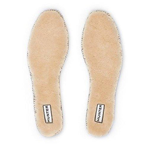 Jägare Kvinna Lyx Shearling Boot Sulor Naturliga