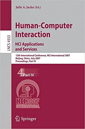 Human-Computer Interaction. HCI Applications and Services: