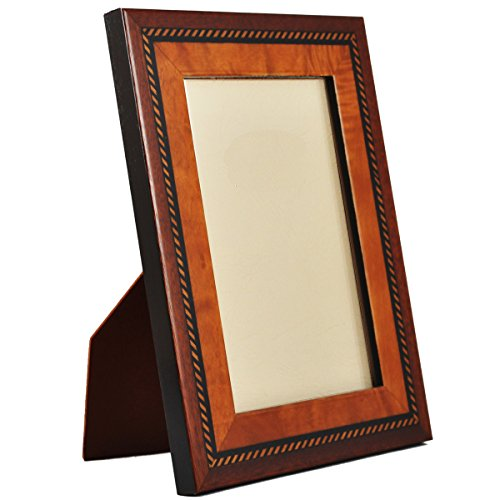 Beautiful and Elegant Carefully Hand Crafted Natalini Italian Wood Picture Frame Boer Mogano Pioppo Design Popular Boer Mahogany Design Made in Italy Hand Made From High Quality Wood Veneer and Soft Velvet Backing Stylish and Posh Comes in a Window Type Gift Box. Comes in 3 Sizes (4