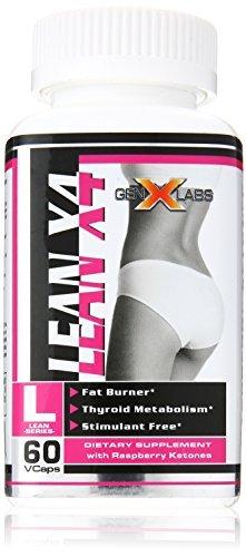 Amazon.com: Lean X 4 Fat Burner by genxlabs – 60 caps. by ...