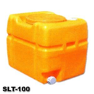 SLTタンク スーパーローリータンク 100L(バルブ付)黄 B002KCQ4GA 11965