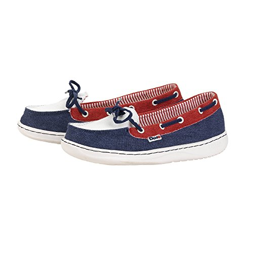 Dude Shoes Womens Moka Classic Navy Multi Blue & Multi Colour
