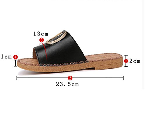 Beach Sandals Non Sandals sandals Slippers And slip Slippers Flat Wear 40 Ladies B Fashion Slippers Indoor A Color Fashion Flat Outdoor Size EW6AqI