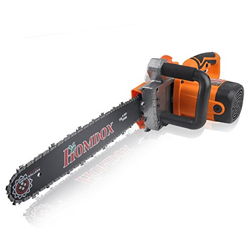 (Ship from US) Electric Chainsaw with Tool Kit US Plug 16inch Saw Blade by Homdox