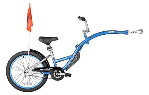 WeeRide Pro-Pilot Tandem Bicycle Trailer, Blue