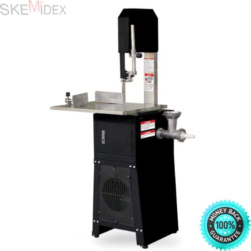 SKEMIDEX Standing Meat Saw + Grinder | Butcher Cutter Mincer Sausage Stuffer Band Cutting aaron s online payment aaron appliance repair appliance rental aarons refrigerator appliance rentals
