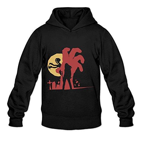 Halloween-Buffy The Vampire Slayer Man's Black Hoody Sweatshirt ()