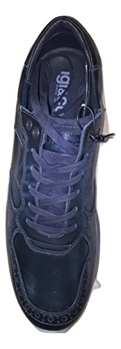 IGI&CO 67261 Vitello Blu Scarpe Uomo