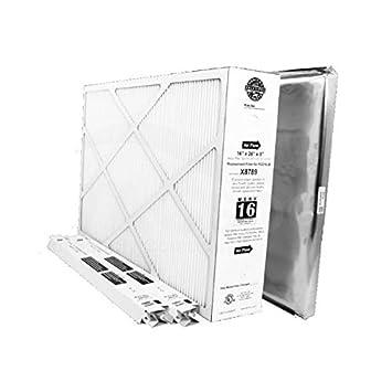 lennox carbon coated x6672 healthy climate merv 16 filter. lennox x8796 maintenance kit for pco16-28 - genuine product carbon coated x6672 healthy climate merv 16 filter