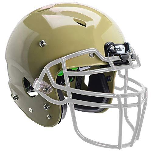 Vegas Gold Football Helmet - Schutt Sports Vengeance A3 Youth Football Helmet (Facemask NOT Included), Metallic Vegas Gold, Medium
