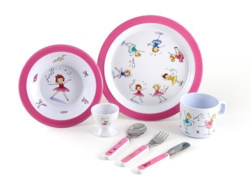 7 Piece Children's Melamine Gift Set -Ballet Surprise by Martin Gulliver