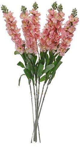 "Weddings 23/"" Snapdragon Bush Silk Flower Floral Arrangements"