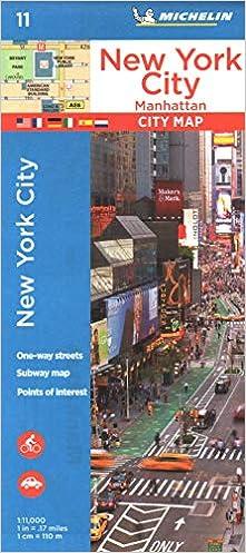Plano New York City, Manhattan por Michelin epub