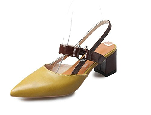 femenina 2 MEILI en moda gruesa La forma zapatos U con es de PqZH1xEFwZ