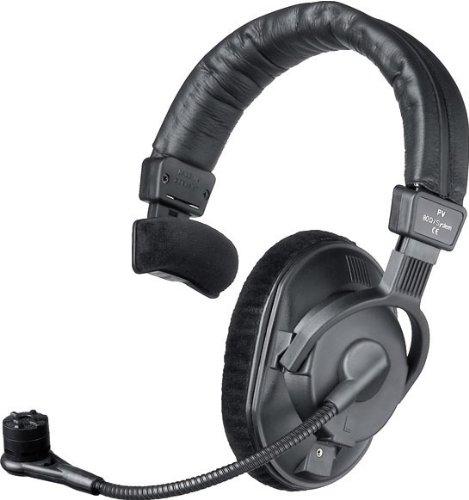 Beyerdynamic DT-287-PV-MKII-250 Single-Ear auriculares con condensador de micrófono cardioide para la alimentación fantasma, 250 ohmios