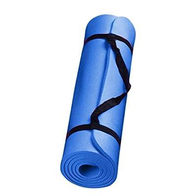 ZZBO Tapis de Yoga Épais et Durable Tapis d'entraînement Antidérapant pour Fitness Sport au Sol Pilates Non Toxique…