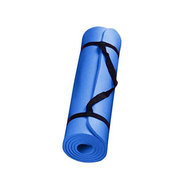 ZZBO Tapis de Yoga Épais et Durable Tapis d'entraînement Antidérapant pour Fitness Sport au Sol Pilates Non Toxique Insipides Gym Exercise Sport Pads 173 * 61 * 0.4 cm 183 * 60 * 0.4cm accessoires de fitness [tag]