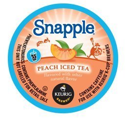 SNAPPLE PEACH ICED TEA K CUP 88 COUNT by SNAPPLE