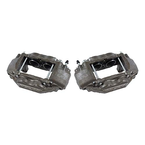 CCK01506 [ 2 ] FRONT Premium Grade OE Semi-Loaded Caliper Assembly Pair Set
