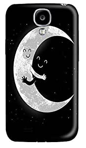 Samsung S4 Case Earth and Moon Hugging224 3D Custom Samsung S4 Case Cover