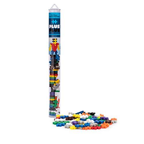 - Plus-Plus - Construction Building Toy, Open Play Tube - 70 Piece - Basic Color Mix