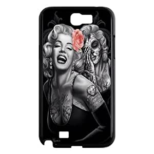 Samsung Galaxy Note 2 N7100 Phone Cases Black Day Of The Dead CXS060451