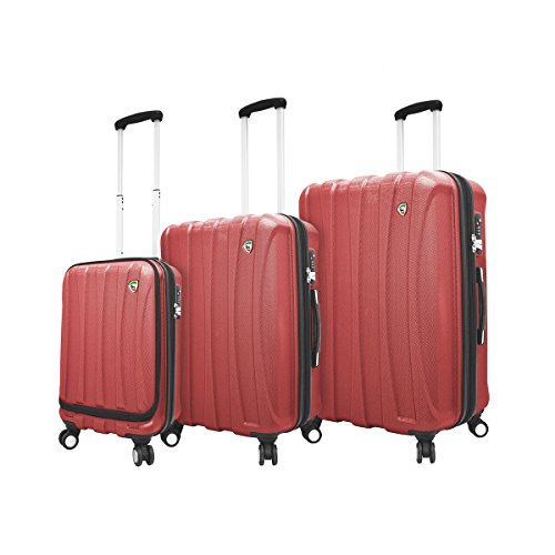 mia-toro-tasca-fusion-made-in-italy-hardside-spinner-luggage-w-10-year-warranty-red