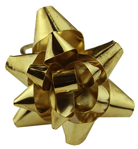 Cotton Craft - Metal Flower Napkin Ring - Gold - Set of 4-2 Inch Round - Hand Made by Skilled artisans - A Beautiful complement to Your Dinner Table décor ()