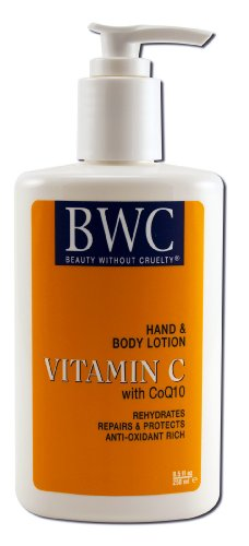 Beauty Without Cruelty Hand and Body Lotion Vitamin C with Coq10, 8.5 ozs.