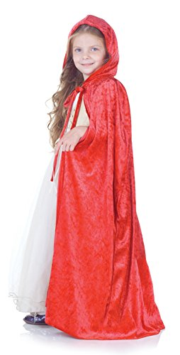 Little Girls Princess Cape (Halloween Red Riding Hood Diy)