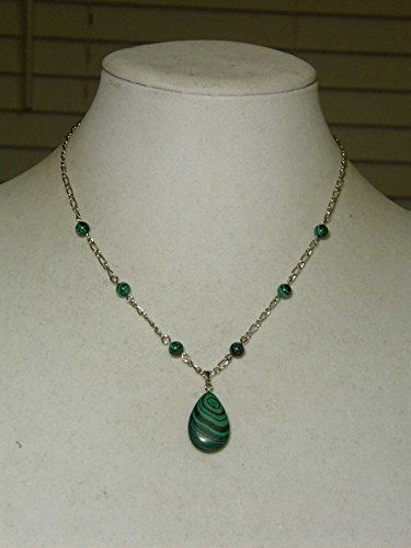 cynthia-lynn-evergreen-rhodium-silver-created-malachite-beaded-necklace
