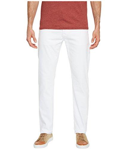 AG Adriano Goldschmied Men's Everett Slim Straight Leg Denim In White White 36 34