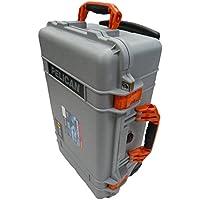 CVPKG Presents Grey & Orange Pelican 1510 NO Foam.
