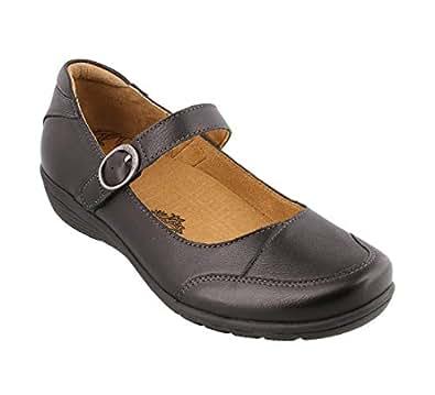 Taos Footwear Women's Uncommon Black Mary Jane 6 M US