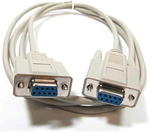 6ft DB9 F//F Straight Thru Cable
