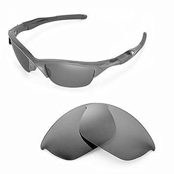 Sunglasses Restorer Lentes de Recambio Polarizadas Gris para Oakley Half Jacket 2.0
