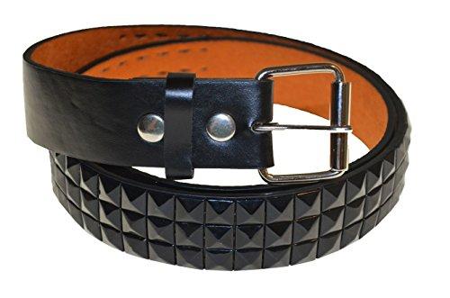 Dragon Leather Belt Studded Belts Punk Rock Belts 34~36 Medium Black