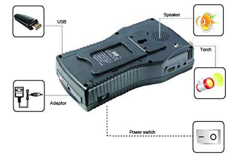 MeterTo Digital 4.3'' LCD Satellite Finder Satellite Meter Detector WS-6960 DVB-S/S2 Compliant Terrestrial Signal Meter Receiver 950~2150MHz -65~-25dBm 2Mband(SCPC/MCPC) Video Audio Encoding USB