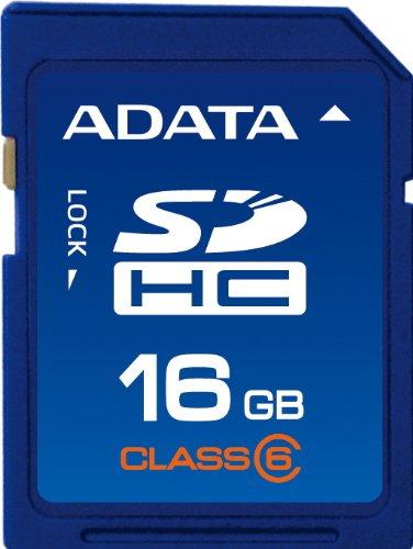 A-Data Turbo- Tarjeta de memoria SD 16 GB clase 6: Amazon.es ...