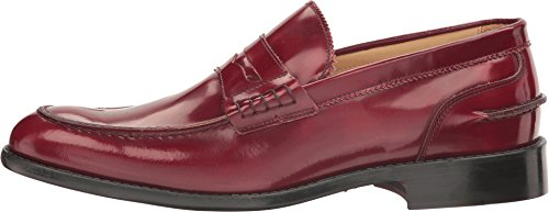 Bugatchi Mens Lombari Slip-on Mocassino Bordeaux
