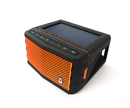 Ecoxgear Sol Jam Solar-powered Waterproof Speaker (orange)