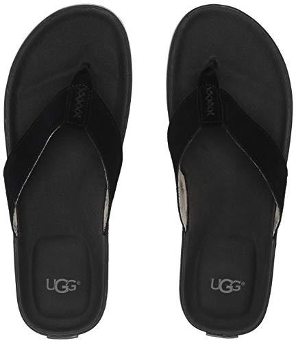 Sandalias Negro Zapatos Beach Hombre Ugg Chanclas qCwASETW